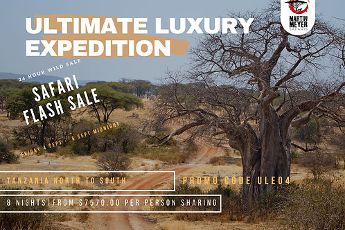 Ultimate Luxury Expedition - Processing Fee