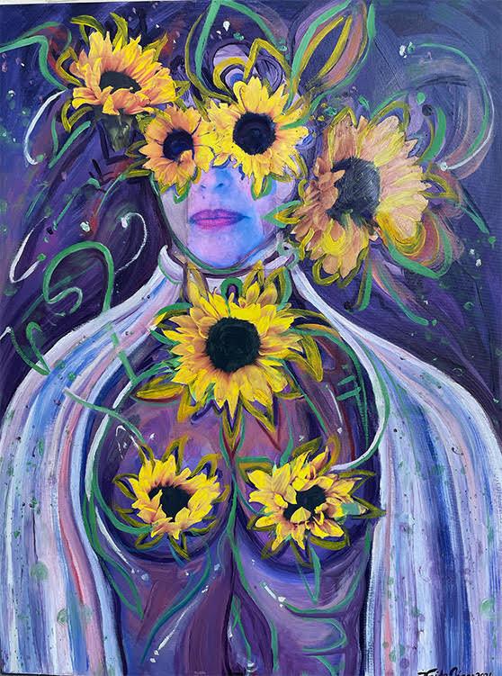 Sun Flower Lady