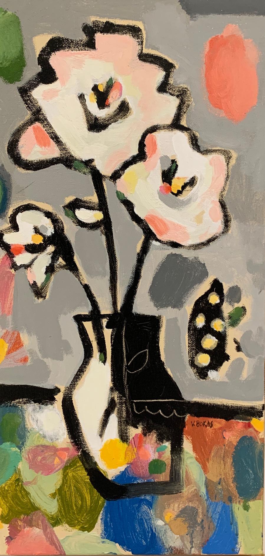 Flowers in a Greek Vase