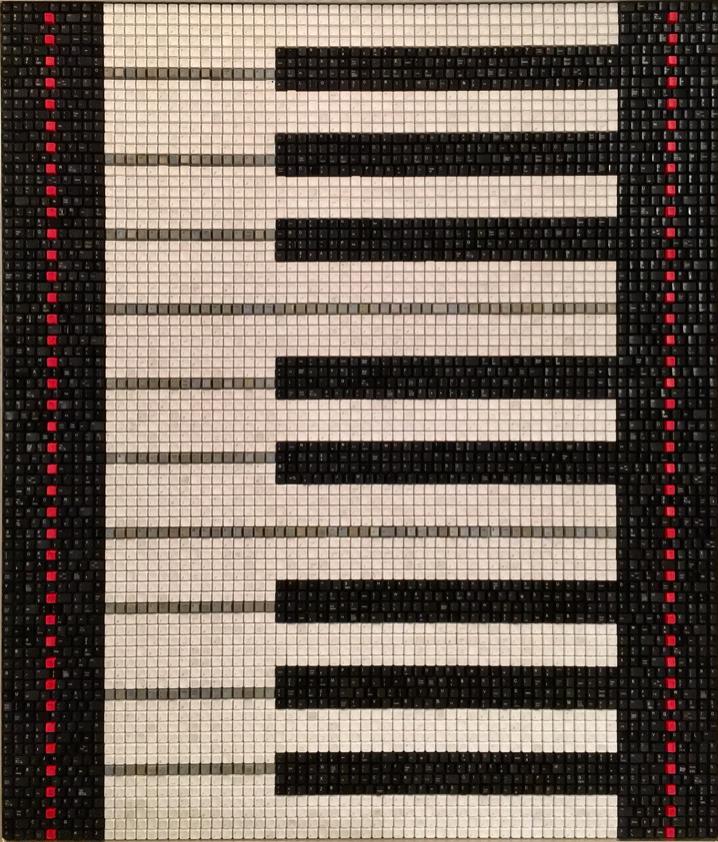 Piano Keys Red Velvet
