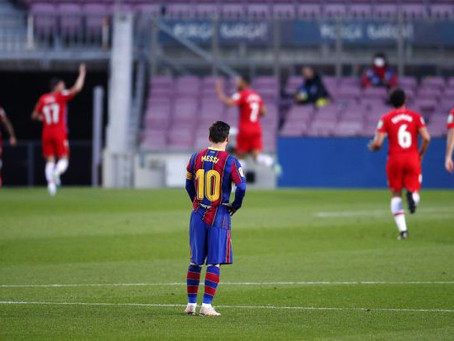 HAVE BARCELONA BLOWN THEIR TITLE HOPES
