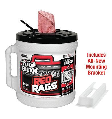 70140 - Z900 Toolbox® Red Big Grip® Bucket Wiper