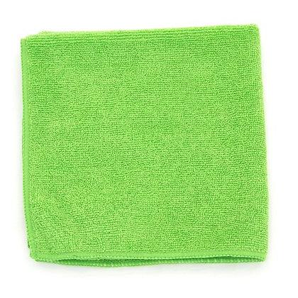 "Lime Green Microfiber Towels - 16"" x 16"" - 15 DZ"