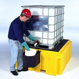 ULT1158 - Ultra-IBC Spill Pallet Plus w/ Drain