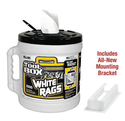 60320 - Z600 Toolbox® White Big Grip® Bucket Wiper