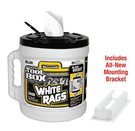 60320 - Z600 Toolbox® White Big Grip® Bucket Wiper