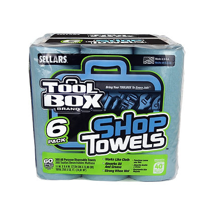 54416 Z400 Toolbox Blue Rolls of Shop Towels 24/cs