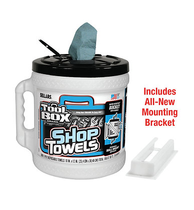 55208 - Z400 Toolbox® Blue Big Grip® Bucket Wipers