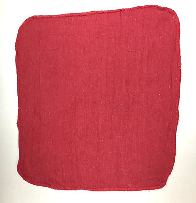 New Red Shop Towels - 100 per Case