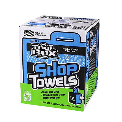 55202 - Z400 Toolbox® Blue Center Pull Shop Towel