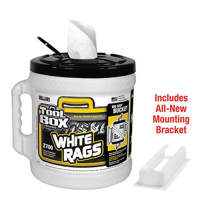 70320 - Z700 Toolbox® White Big Grip® Bucket Wiper