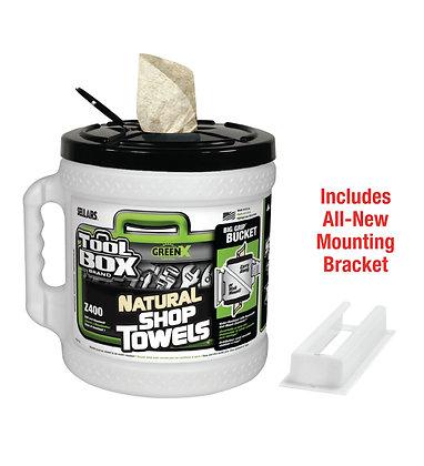 54202 - Z400 GreenX Big Grip® Bucket White Wiper