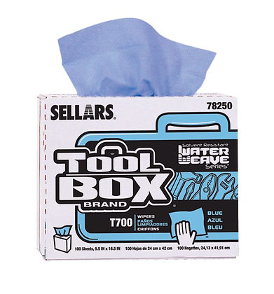78250 - T700 TOOLBOX® WaterWeave® Blue Pop-up Box