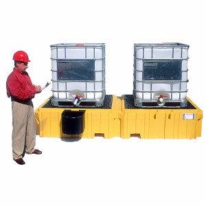 ULT1140 - Ultra-Twin IBC Spill Pallet w/o Drain