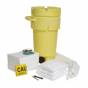 SPKO-50-WD - Oil Only 50-Gallon Spill Kit w/Wheels