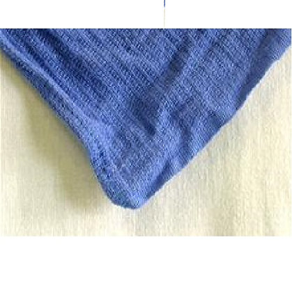 Reclaimed Blue Huck/Surgical Towel - 25 lb per case