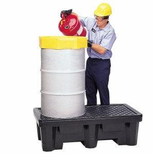 ULT2504 - 2-Drum Spill Pallet w/o Drain