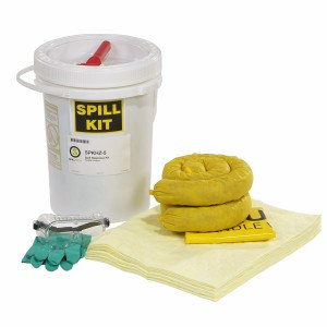 SPKHZ-5 - HazMat 5-Gallon Spill Kit