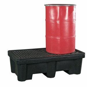 ULT2505 - 2-Drum Spill Pallet w/ Drain