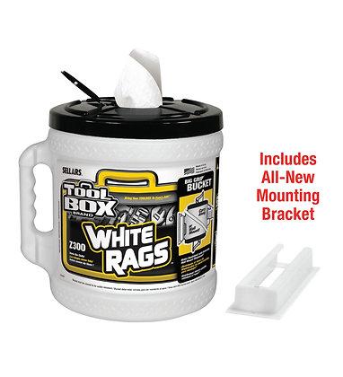 20420 - Toolbox® Z300 Big Grip® Bucket White Wiper