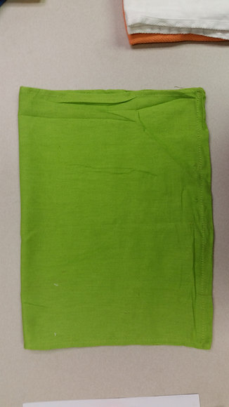Reclaimed Green Huck/Surgical Towel - 25 Lb Case