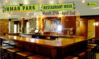 Inman Park Restaurant Week