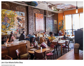 Joe's EAV Coffee Shop