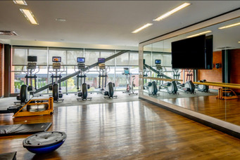 GYM AT THE FLATS