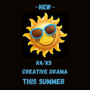 45 Year old Creative Drama Camp 1080x108