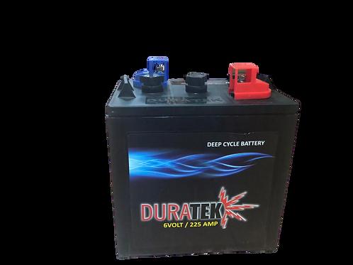"""Duratek Battery  6V 225Amp T-106 """"DURADT106""""/5958"""