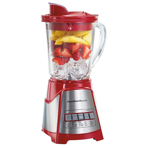Hamilton Beach Blender Crystal  (Red)/6430