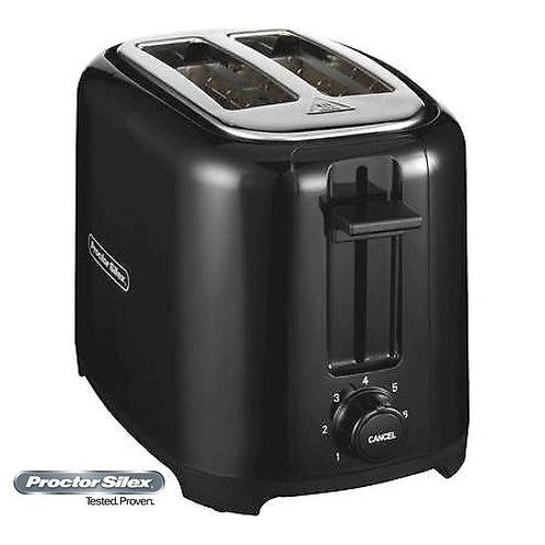 Proctor Silex Toaster Black 22607/5774