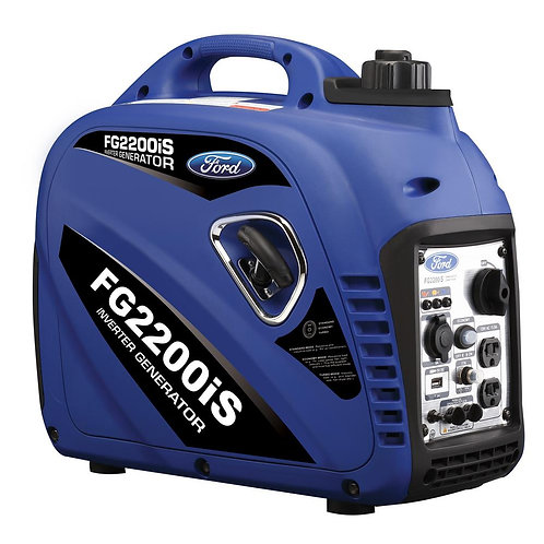 """Ford Generator 2,200W Gasoline Inverter """"GGGN-FORD/FG2200IS""""/7385"""