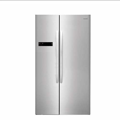 Frigidaire Refrigerator 22 Cuft Side By Side Stainless /6958