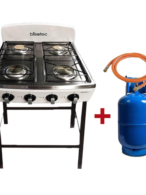 COMBO STOVE BISOTEC+GAS CAN