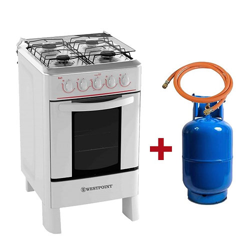 Westpoint Combo Oven 20 Inches and GAS CAN Free 25Lbs