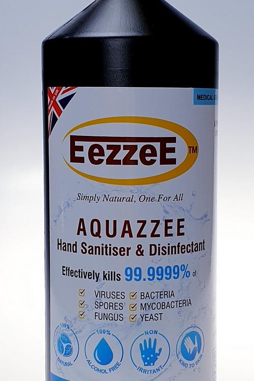 EezzeE Aquazzee HOCI Hand Sanitiser 1 Litre   Refill