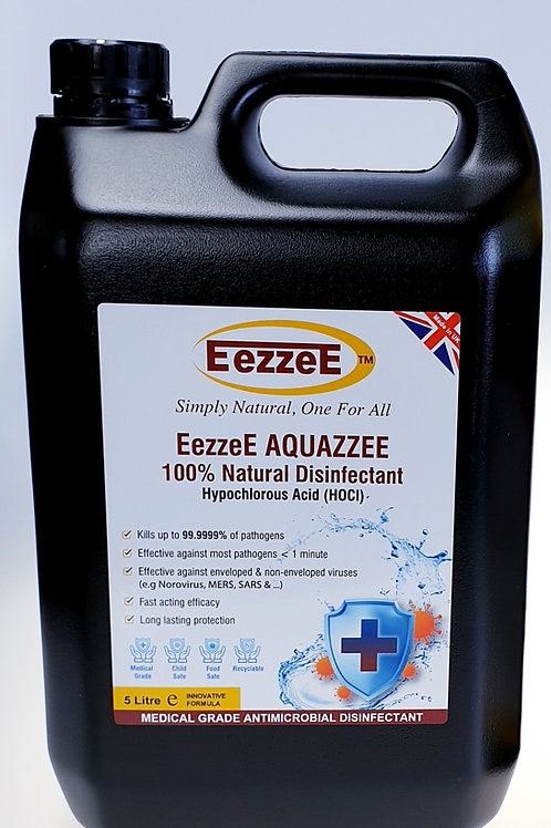 EezzeE Aquazzee Multi-Purpose 5ltr Refill (Suitable for Fogging Machine too)