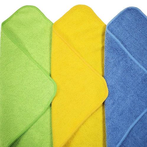 EezzeE Microfiber Cloths (Pack of 3)