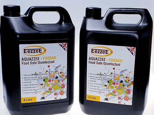 2 x EezzeE Aquazzee Refill 5Ltr (Food Safe)