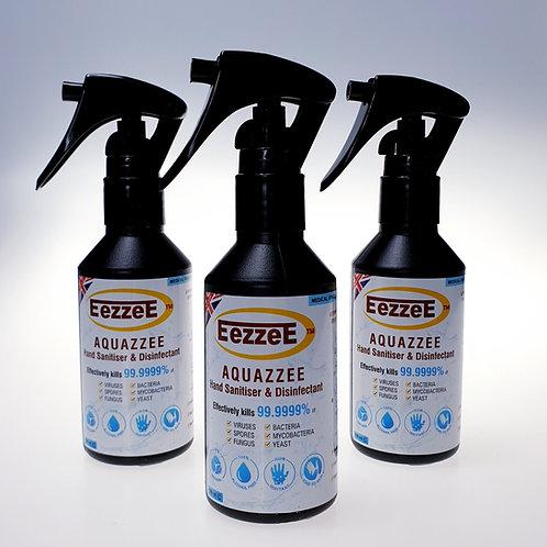EezzeE Aquazzee HOCI Hand Sanitiser (100ml) x 3