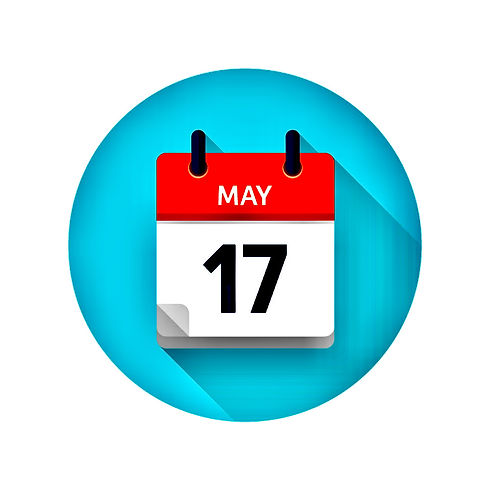 may-17-flat-daily-calendar-icon-date-and