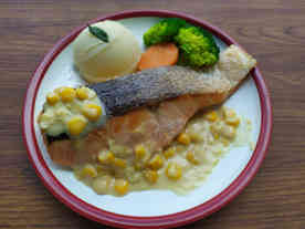 Corn Cream Salmon