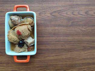 Lion/s Mane Mushroom Pork Rib Soup