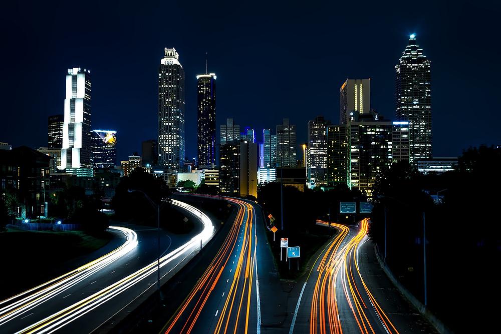 Atlanta Night Sky