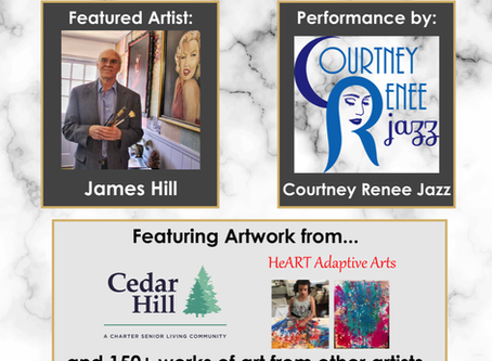 Courtney Renee Jazz at 3rd Annual Local Artists Night at Cedartown Performing Arts