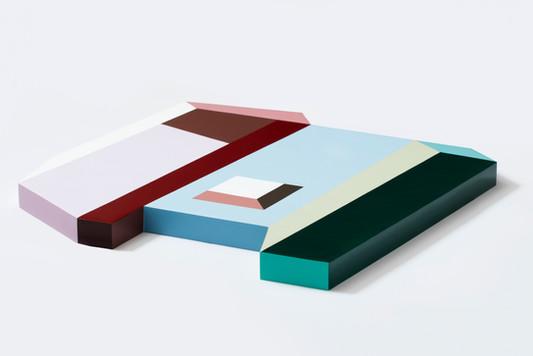 Legoscaped No.6_approx. 60x63x4cm, acrylic on wood, 2020 (left).jpg