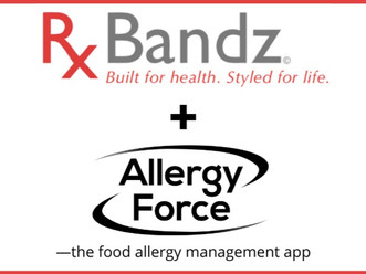 """Rx Bandz and Allergy Force Sign Partnership for """"Smart"""" Auto-injector Accessories"""
