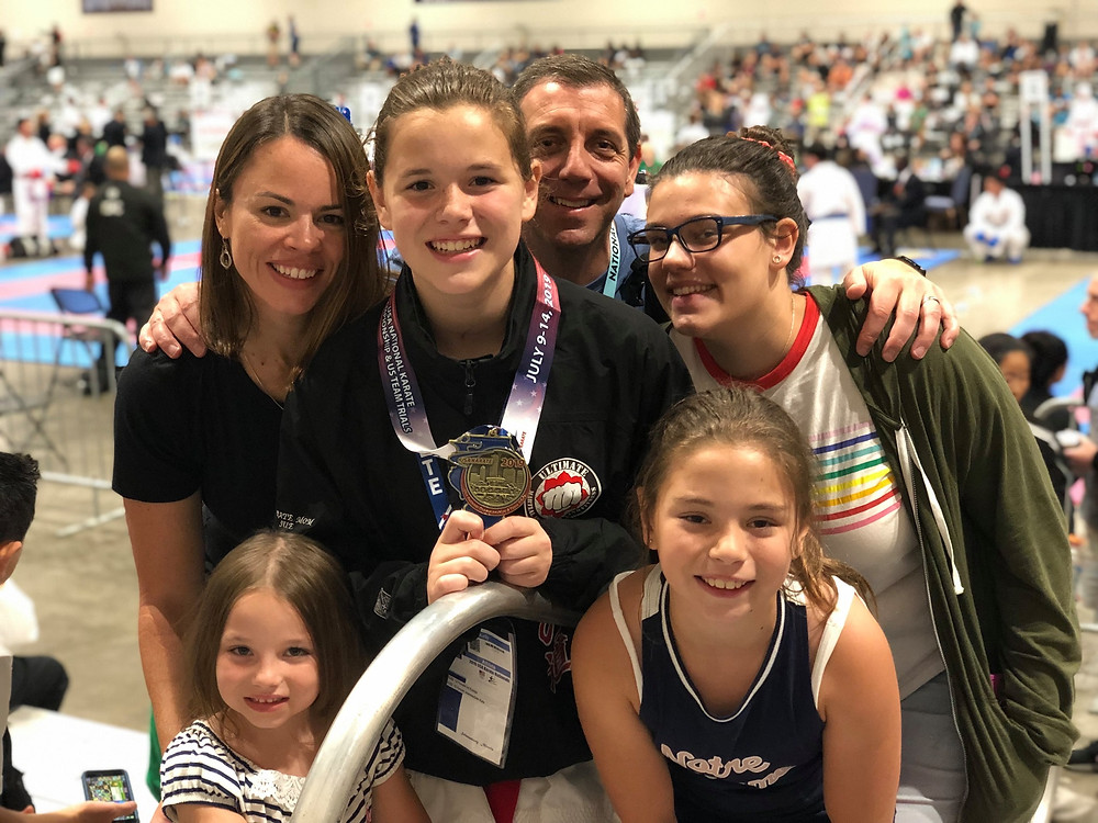family-photo-at-sports-competition