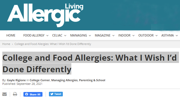 header-for-allergic-living-magazine-plus-feature-article-by-gayle-rigione-college-and-food-allergies-what-i-wish-i-d-done-differently